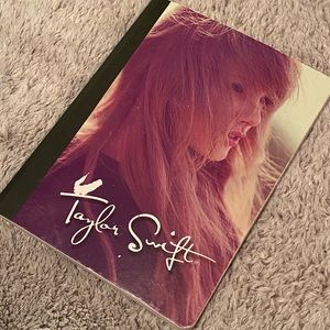 Taylor swift (RARE) notebook from RED ERA